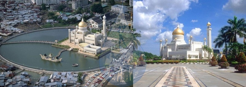 Brunei : ca. 1980s-1990s Bandar Seri Begawan, Brunei